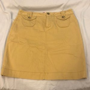 Tan old navy skirt